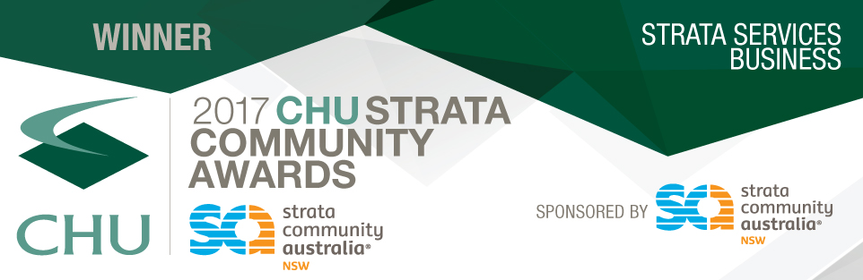 SCA NSW Winner Strata Business Services