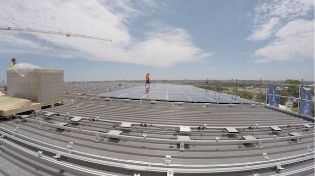 Solar installation video