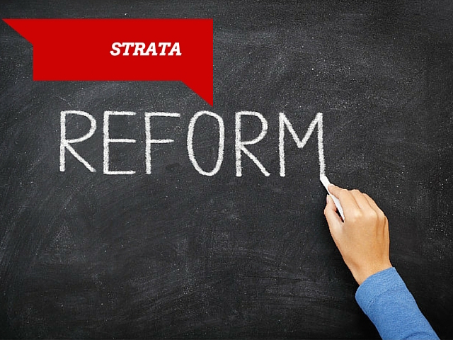 Strata reform for 2 million NSW residents