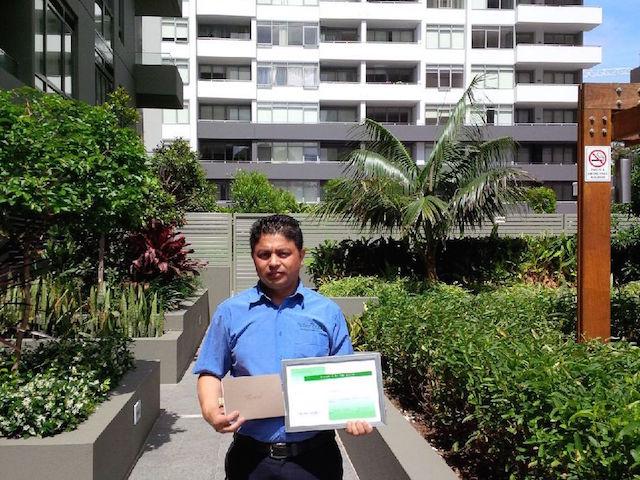 Havencab Employee of the Month Suraj Binu