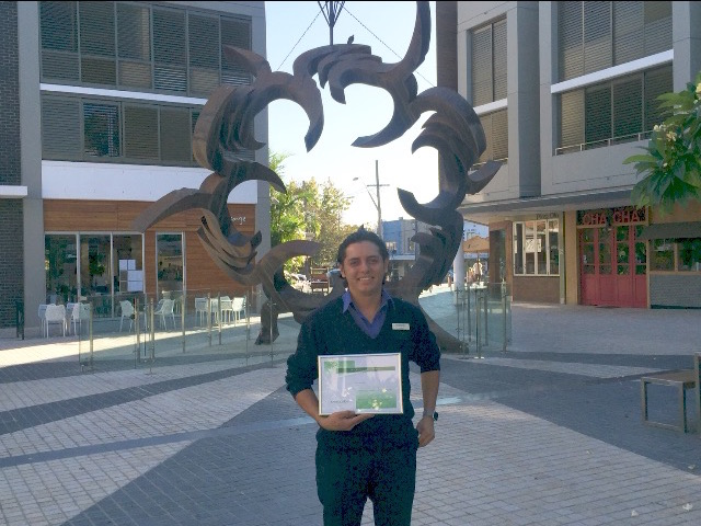 Havencab employee of the month Luis Gonzales