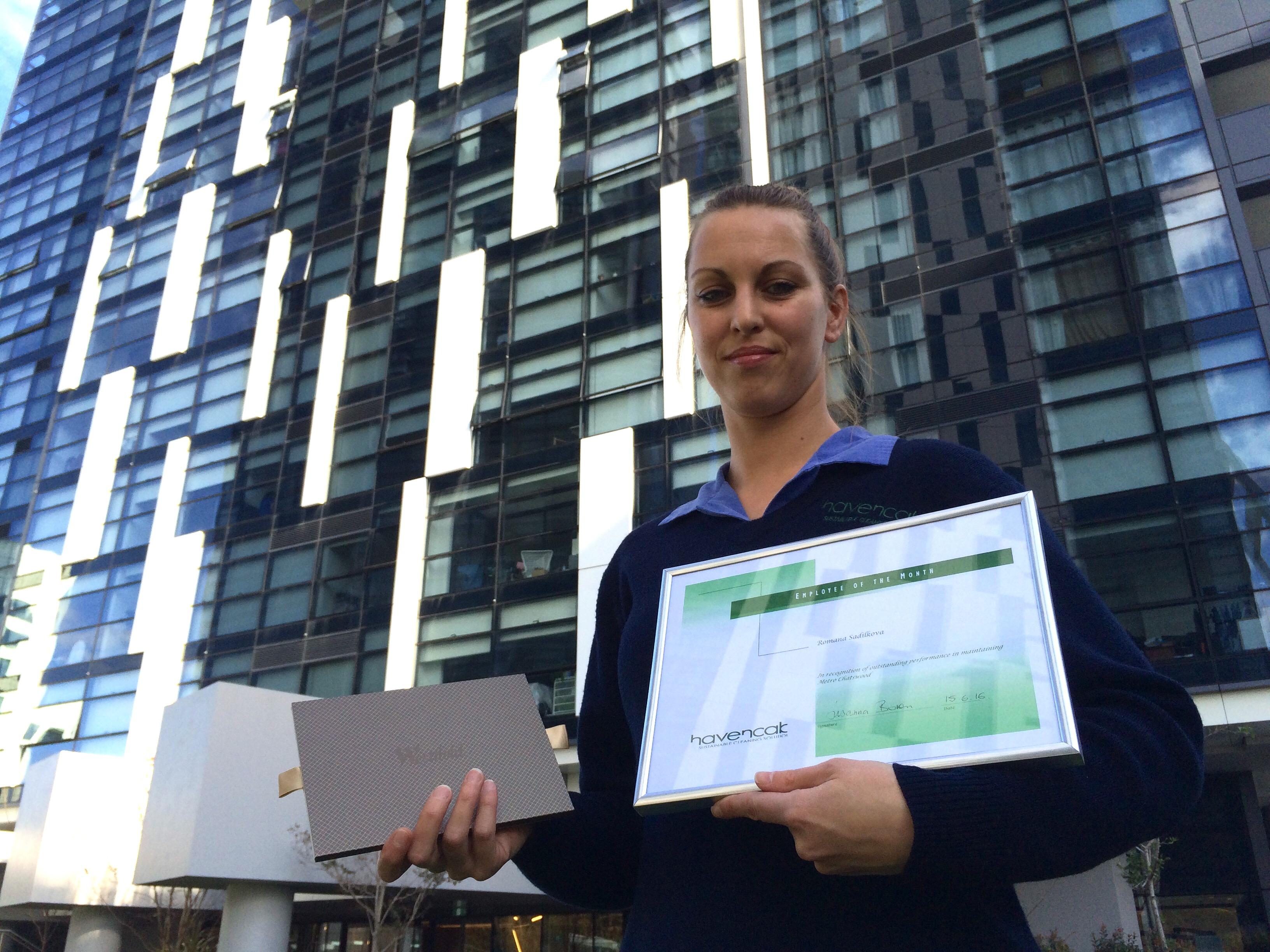 Havencab Employee of the Month Romana Sidilkova