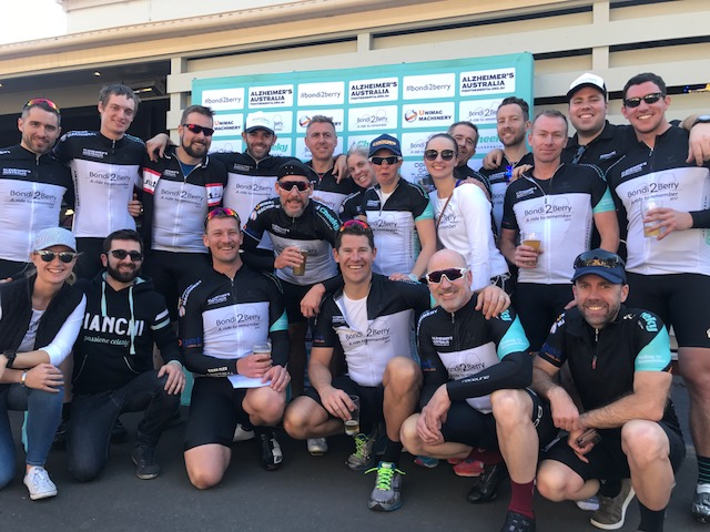 Havencab's Diego Canavero and team raised $70K for Alzheimers Australia