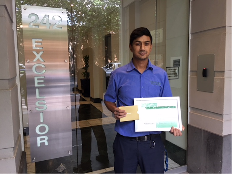 Havencab Employee of the Month Umang