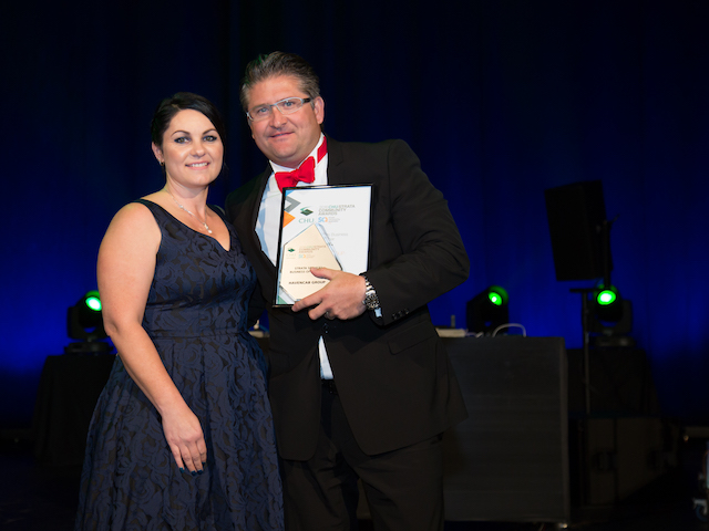 SCA Strata Business Services of the Year winner Havencab CEO Frank Boross