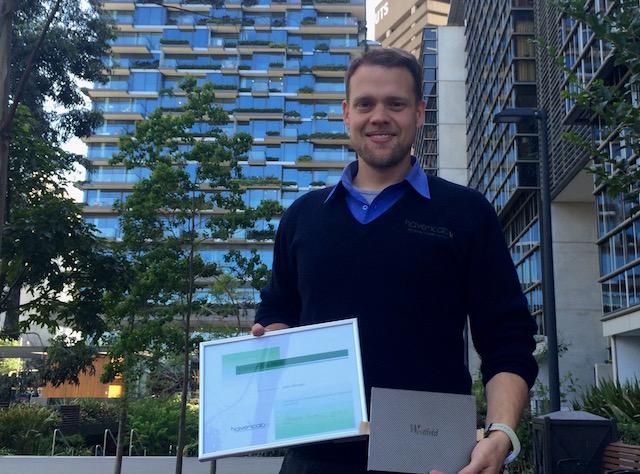 Havencab Employee of Month September Lukas Moronga