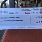 Havencab's Diego Canavero and team raised $70,000 for Alzheimers Australia - way to support your team!
