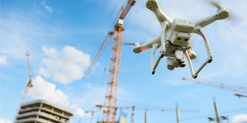 Drones in asset management