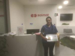 Havencab Employee of the Month Biljana Nikolovska